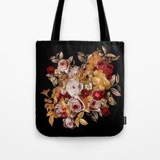 Watercolor Floral Pattern Tote Bag