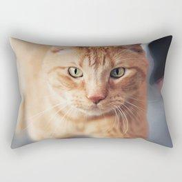 A Newsworthy Nuzzler Rectangular Pillow