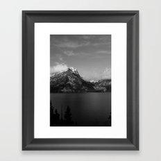 Jenny Lake and the Tetons Framed Art Print