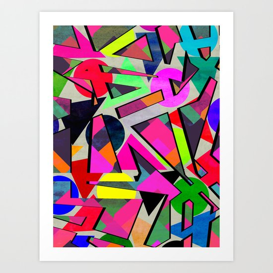 Graphic 10 Art Print