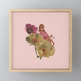 Buy Yourself Flowers Framed Mini Art Print