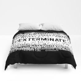 Exterminate 2 Comforters