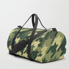 Camouflage houndstooth Duffle Bag