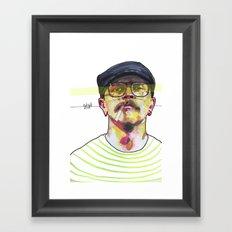 HIP Framed Art Print
