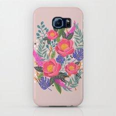 Romantic Blossom, flower print, floral print Galaxy S7 Slim Case