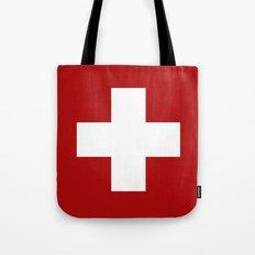 Swiss Cross Tote Bag