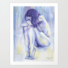 Summertime Sadness Art Print