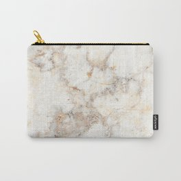 Marble Natural Stone Grey Veining Quartz Carry-All Pouch