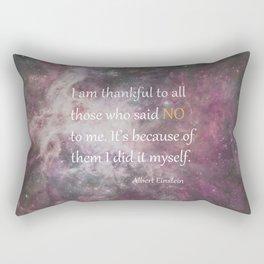 I AM THANKFUL (quote) Rectangular Pillow