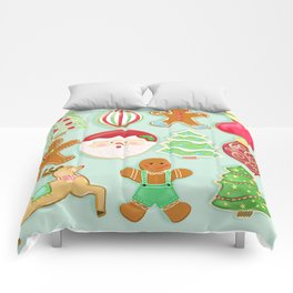 Baking Christmas Bright Comforters