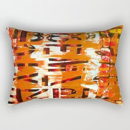 Underneath Rectangular Pillow