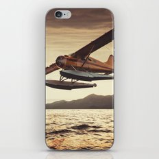 Flying in the Sunset iPhone & iPod Skin