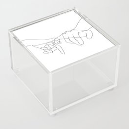 Pinky Swear Acrylic Box
