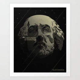 Shakespeare / Destiny Art Print