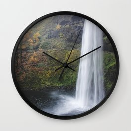 Fall Falls Wall Clock