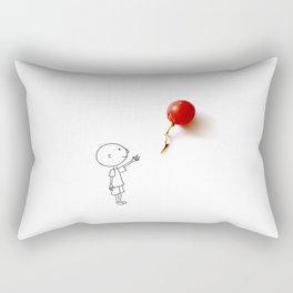 Grape balloon Rectangular Pillow