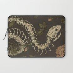 Snake Skeleton Laptop Sleeve