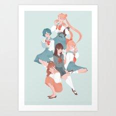 Scouts Art Print