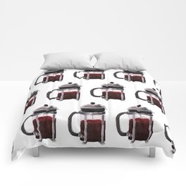 French Press - Red Comforters
