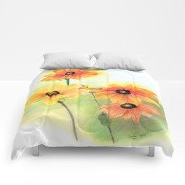 Gloriosa Daisies Comforters