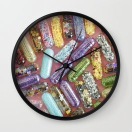 Take a Chill Pill Wall Clock