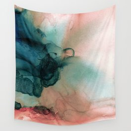 Blue Typhoon Wall Tapestry