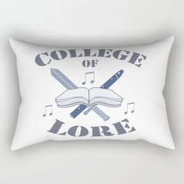 College of Lore Rectangular Pillow
