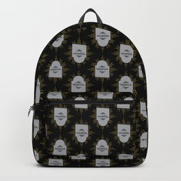 Happiness (black ver) Backpack