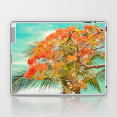 Summery Trees in Hawaii Laptop & iPad Skin