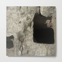 Entrances to Under Earth Travel Photograph Metal Print