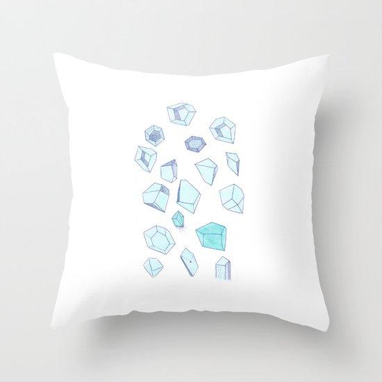 Gems II Throw Pillow