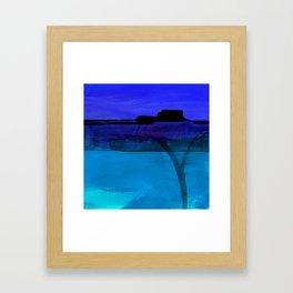 Mesa No. 100C by Kathy Morton Stanion Framed Art Print