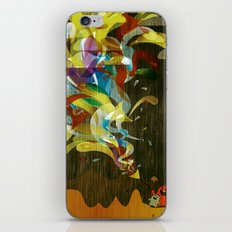 Let's Go Fly A Kite iPhone & iPod Skin