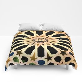Azulejo de La Alhambra Comforters