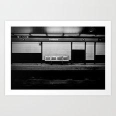 BlackGround Art Print
