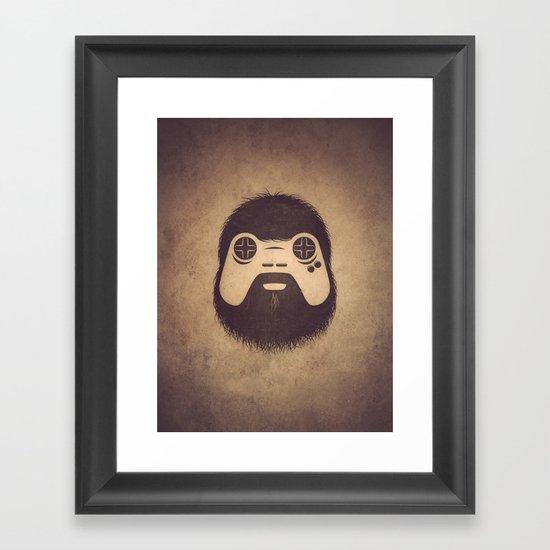 The Gamer Framed Art Print