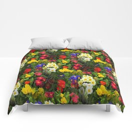 Flowers Galore Comforters