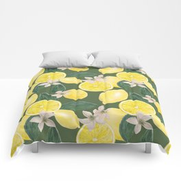 Lemon's pattern Comforters