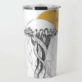 The Island - Minimal line Travel Mug
