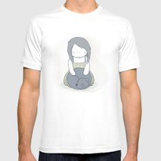 Shadow Mens Fitted Tee White MEDIUM