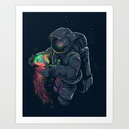 Jellyspace Art Print