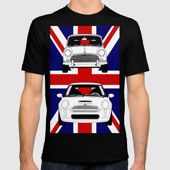 Mini, new and old T-shirt