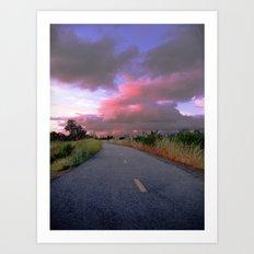 The Road to Nowhere Art Print