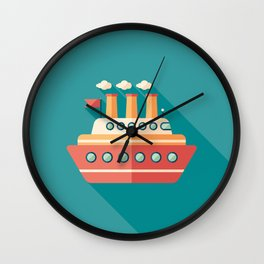 Passenger Ship Wall Clock