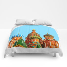 St. Basil's cathedral Comforters