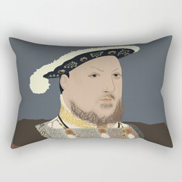 Henry VIII of England Rectangular Pillow