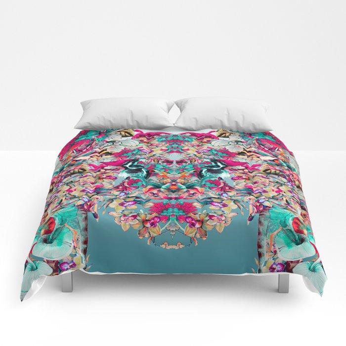 Botanical Blue Comforters