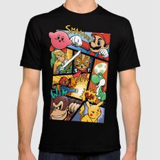 Dairanto Smash Bros SMALL Black Mens Fitted Tee