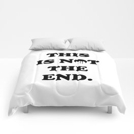 THIS IS NOT THE END. (ONE DIRECTION) Comforters