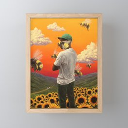 Scum Fuck Flower Boy Framed Mini Art Print